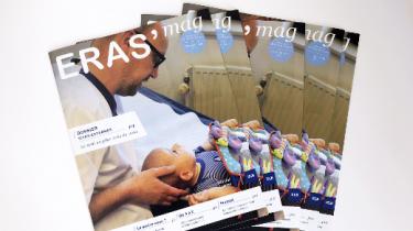 Couverture magazine Eras'mag automne 2018