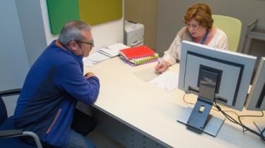 Accueil administratif d'un patient à l'Hôpital Erasme