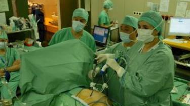 Photo chirurgie laparoscopique