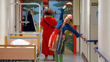 Les clowns à l'Hôpital Erasme