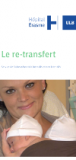 Dépliant re-transfert hôpital Erasme