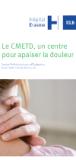 Depliant CMEDT - Un centre pour apaiser la douleur