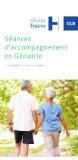 Séance d'écoute et d'accompagnement en Gériatrie à l'Hôpital Erasme