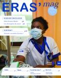 Couverture du magazine de l'Hôpital Erasme Eras'mag hiver 2018