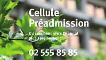 Cellule Préadmission de l'Hôpital Erasme