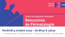 4 octobre 2019 Rencontre de périnatalogie à l'Hôpital Erasme