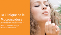 Jeudi 22 novembre : symposium Mucoviscidose au Musée de la Médecine de 14h30 à 18h