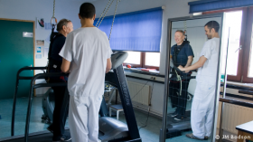 Présentation du Service de Kinésithérapie de l'Hôpital Erasme