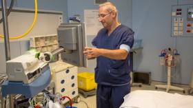 Turgay Tuna président du Conseil médical de l'Hôpital Erasme