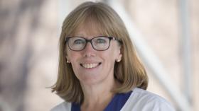 Portrait de Christine Ongenaed, infirmière à l'Hôpital Erasme
